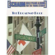Alfred Schaum Solo Piano Album Series- The Broadway Book - Music Book(ALFRD41753)