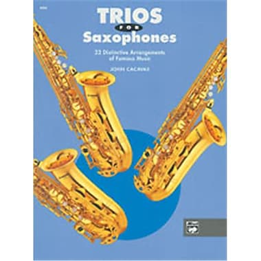 Alfred Trios for Saxophones - Music Book(ALFRD50276)