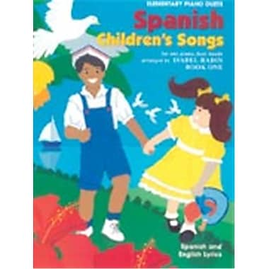 Alfred Spanish Children s Songs- Book 1 - Music Book(ALFRD43969)
