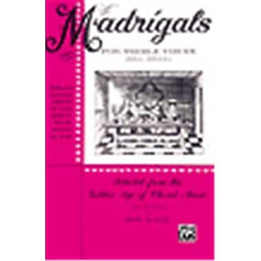 Alfred Madrigals for Treble Voices - Music Book(ALFRD26289)