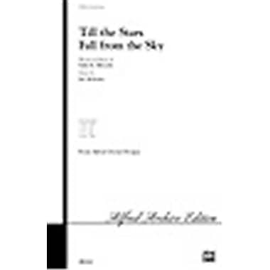 Alfred Till the Stars Fall from the Sky - Music Book(ALFRD26831)
