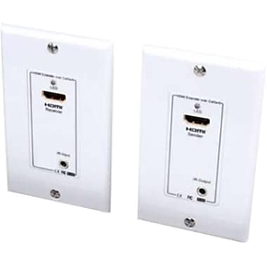 Vanco HDMI Wall Plate Extender over Two UTP Cables with IR Control -(DSI1299)
