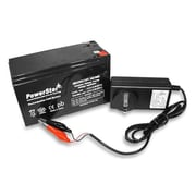 PowerStar 12V 7.5Ah SLA Charger & Battery for 385ci Portable Fish Finder(BTJK9277)