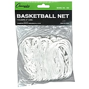 Champion Sports Economy Nylon 4mm Basketball Net, White (CHS400)