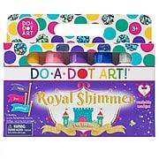 Do-A-Dot Art Washable Art Marker, Sponge Tip Applicator, Shimmer Colors, Pack of 5 (DAD104)