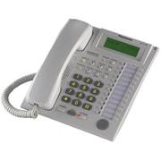 Panasonic BTI 24-Button Speakerphone Telephone with LCD Screen - White(TDNM1961)