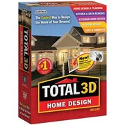 Individual Software Inc Total 3D Home Design Deluxe Win 2000-Xp-Vista-Win 7(NV8054491)