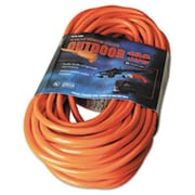 Coc 100 ft. Vinyl Outdoor Extension Cord - 13 Amp, Red(AZTY03468)