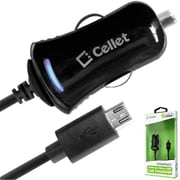 Cellet High Powered 10 Watt Micro Usb Car Charger(CLET103)