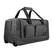 "Solo New York 22""W Gray Travel Duffel Bag (UBN980-10)"