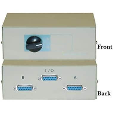 CableWholesale Apple - Mac AB 2 Way Switch Box DB15 Female(CBLW1137)
