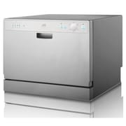 SUNPENTOWN SPT 6 Place Setting Silver Countertop Dishwasher with Delay Start(SUPN351)