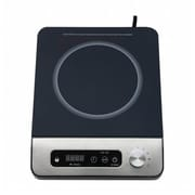 Sunpentown 1650W Induction Cooktop with Control Knob, Black(SUPN402)