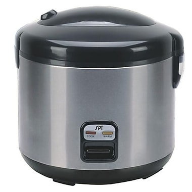 Sunpentown 6 Cups Rice Cooker with Stainless Body(SUNPN207)