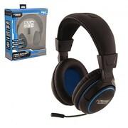 KMD PS4 Pro Gamer Headset, Large - Black(INNX634)