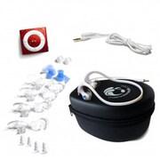 Underwater Audio Red Waterproof iPod HydroActive Bundle(URWT019)