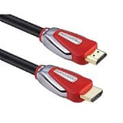 Forspark Technology 6 ft. 4K-HDMI 2.0 Ultra Premium High Speed HDMI Cable - Red Case(FSPK049)