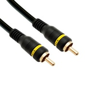 CableWholesale High Quality Composite Video Cable RCA Male Gold-plated Connectors 50 foot(CBLW102)