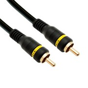 CableWholesale High Quality Composite Video Cable RCA Male Gold-plated Connectors 25 foot(CBLW100)