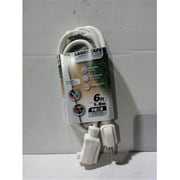 Prime White Outdoor Extension Cord, 10 ft.(JNSN78846)