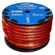 AUDIOP 0 Gauge 100 ft. Spool Oxygen Free Power Cable(WHSL3757)