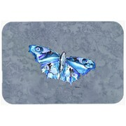 Carolines Treasures Butterfly on Gray Mouse Pad, Hot Pad or Trivet(CRLT24537)