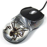 ED SPELDY EAST Computer Mouse Clear Spider(ESE598)