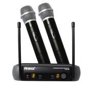 Media Sync Rsq Dual Mic Vhf Wireless System(ALIAD0973)
