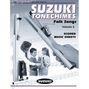 Alfred Suzuki Tonechimes- Volume 6: Folk Songs - Music Book(ALFRD21637)