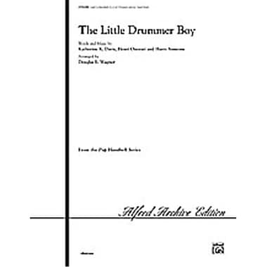 Alfred The Little Drummer Boy - Music Book(ALFRD37171)
