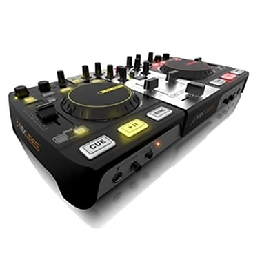 MIX VIBES All in one DJ Controller with Built-In Audio Interface and CROSS DJ software(TBALL10517)