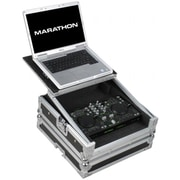 MARATHON PROFESSIONAL Case to hold 1 x DJTech iMix iMix Reload U2 Station Digital Music Controller Plus Laptop Shelf(TBALL9849)
