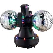 VE Duo-Led Twin Rotating Mirror Balls(TBALL8219)