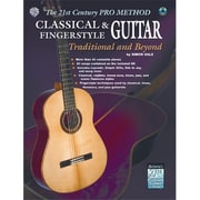 Alfred The 21st Century Pro Method- Classical & Fingerstyle Guitar- Traditional and Beyond - Music Book(ALFRD35807)