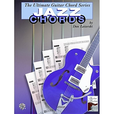 Alfred The Ultimate Guitar Chord Series- Jazz Chords - Music Book(ALFRD35789)