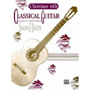 Alfred Christmas with Classical Guitar Solos & Duets - Music Book(ALFRD33353)