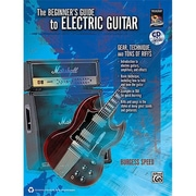 Alfred Beginner s Guide to Electric Guitar - Music Book(ALFRD36204)