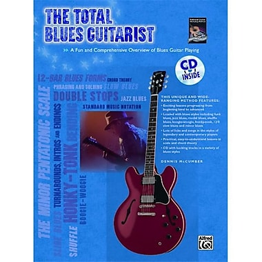 Alfred The Total Blues Guitarist - Music Book(ALFRD36087)