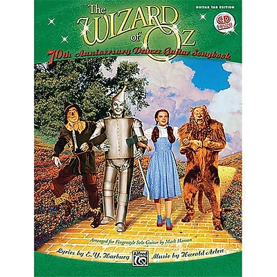 Alfred The Wizard of Oz- 70th Anniversary Edition for Fingerstyle Solo Guitar - Music Book(ALFRD36214) 24003169
