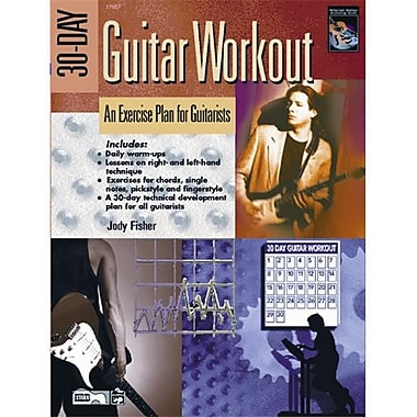 Alfred 30-Day Guitar Workout - Music Book(ALFRD35933)