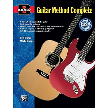 Alfred Basix Guitar Method Complete - Music Book(ALFRD36194)