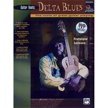 Alfred Beginning Delta Blues Guitar - Music Book(ALFRD36030)