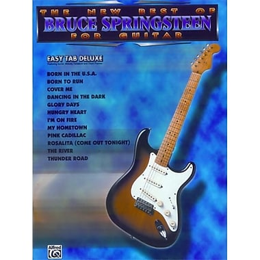 Alfred The New Best of Bruce Springsteen for Guitar - Music Book(ALFRD36796)