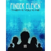 Alfred Finger Eleven- Them vs. You vs. Me - Music Book(ALFRD36689)