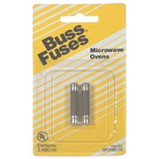 Bussmann - Cooper BP-ABC-10 2 Count 10 Amp 250 Volt Microwave Oven Fuse(JNSN59560)