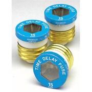 Leviton Mfg 15 Amp Time Delay Glass Plug Fuses(JNSN59584)