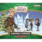 Focus On The Family Audio CD Adventures In Odyssey Countdown To Christmas Advent Collection September(ANCRD73458)