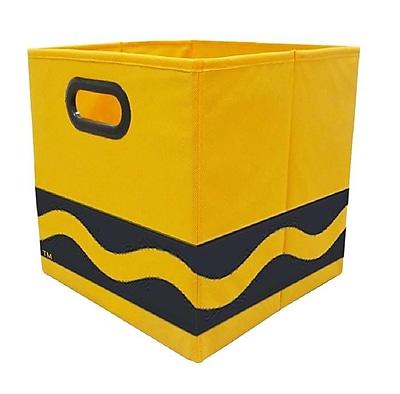 Crayola Black Serpentine Orange Storage Bin (CRYSTOR205)