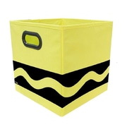 Crayola Black Serpentine Yellow Storage Bin (CRYSTOR203)