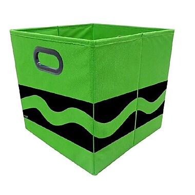 Crayola Black Serpentine Green Storage Bin (CRYSTOR206)